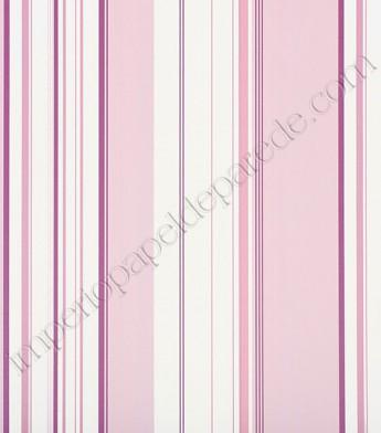 15e82e8fd7674 04 - Papel de Parede Vinílico Classic Stripes (Americano) - Listras (Tons  de Rosa/ Roxo/ Branco)