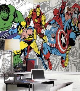 PÁG. 194 - Painel Disney York II (Americano) - Heróis Marvel (Marvel Comics Characters) - COLA INCLUSA