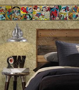 PÁG. 210 - Faixa Vinílica Decorativa Disney York II (Americano) - HQ Homem-Aranha (Colorido)