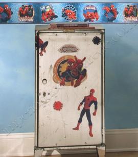 PÁG. 219 - Faixa Vinílica Decorativa Disney York II (Americano) - Homem-Aranha (Tons de Azul/ Vermelho)